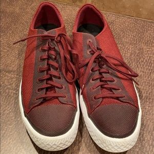 Converse All Stars - deep red nylon